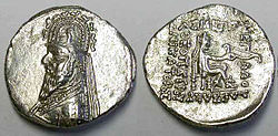 Coin of Gotarzes I of Parthia.jpg