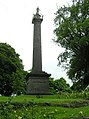 Cole Monument at Fort Hill Park, Enniskillen - geograph.org.uk - 1361418.jpg