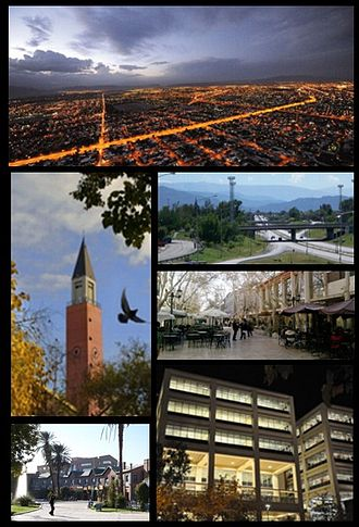 San Juan, Argentina - Image: Collage Ciudad de San Juan