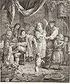 Collection de cent-vingt estampes, gravée d'après les tableaux and dessins qui composoient le cabinet de m. Poullain précédée d'un abrégé historique de la vie des auteurs qui la composent Cette suite (14778779495).jpg
