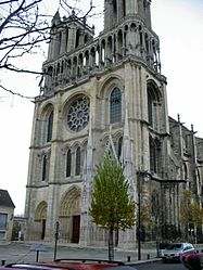 The Collegiate Church of Our Lady, in Mantes