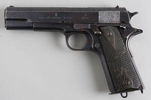 Kongsberg Colt - COLT AUT. PISTOL M/1912, with No. 67