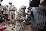 Combat Logistics Battalion 8 escorts 1st Tank Battalion through Afghanistan DVIDS364425.jpg
