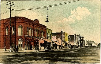 National Register of Historic Places listings in Clay County, Mississippi - Image: Commerce Street West Point