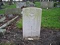 Commonwealth War Grave in Jarrow Cemetery (WW2-02) - geograph.org.uk - 1604348.jpg
