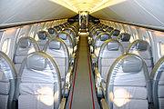 BA Concorde interior before 2000