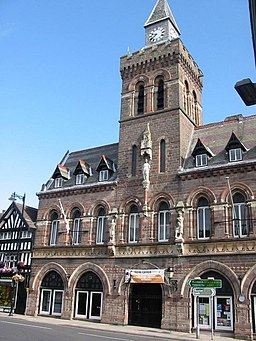 Congleton Town Hall - geograph.org.uk - 488723