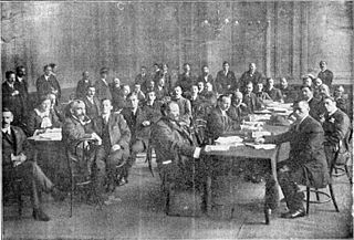First International Syndicalist Congress meeting of European and Latin American syndicalists in London in 1913