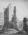 Conisbrough Castle, 1814.png