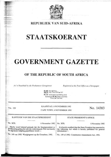 File:Constitution Amendment Act 1992.djvu