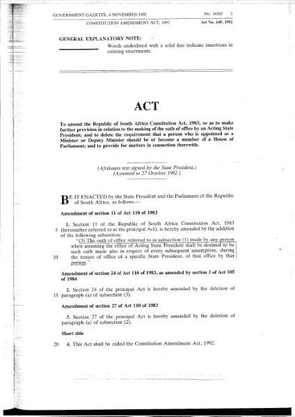 File:Constitution Amendment Act 1992.djvu