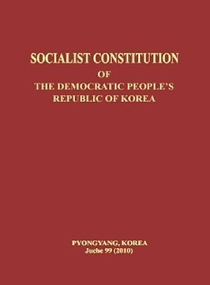 Constitution of North Korea - Image: Constitution of North Korea