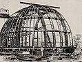 Construction of Dunlap Observatory dome.jpg