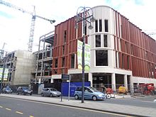 0c4fd2c35e90 The first branch of John Lewis in Leeds (opened in October 2016) under  construction in 2015