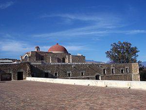 A view front ceil in the Santiago Apostol Conv...