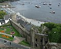 Conwy town walls, by the quay - geograph.org.uk - 1769151.jpg