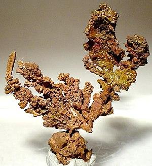 Copperbelt - Native copper from Mufulira, Zambia