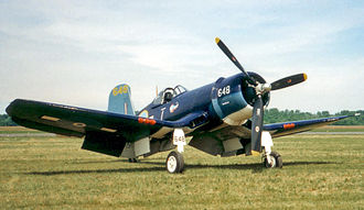 No. 16 Squadron RNZAF - Image: Corsair Barth