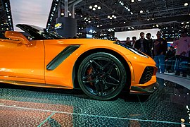 Corvette ZR1 at the New York International Auto Show NYIAS (27453370868).jpg
