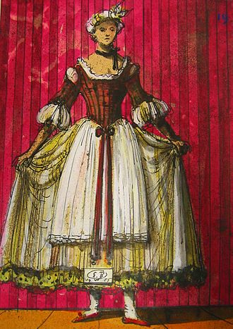 Così fan tutte - Costume design by Eugène Berman