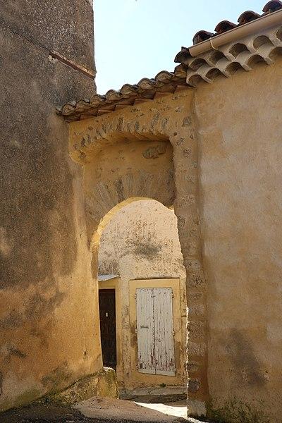Coulobres (Hérault) - porte