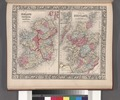 County map of Scotland; Shetland Islands (inset); Ireland in provinces and counties. NYPL1510831.tiff