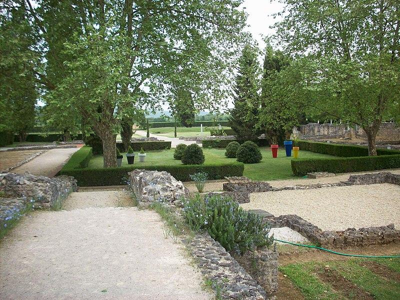 Cour (Villa gallo-romaine de Montmaurin)