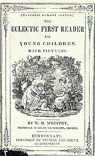 McGuffey Readers Series of childrens early reading books