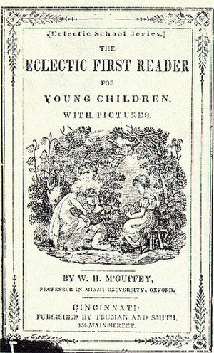 McGuffey Readers - Cover of McGuffey's First Reader