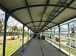 Covered walkways at Mackay Airport, Mackay, Queensland.jpg