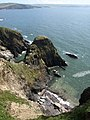 Coves on Burgh Island - geograph.org.uk - 1475778.jpg