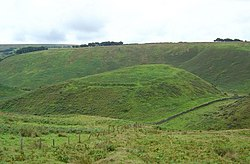 Cow Castle Iron Age fort,Simonsbath,Somerset. - geograph.org.uk - 266665.jpg