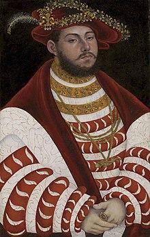 Johann Friedrich I. (Lucas Cranach d. Ä. 1528/30) (Quelle: Wikimedia)