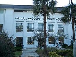 Wakulla Countys domstolhus i Crawfordville.