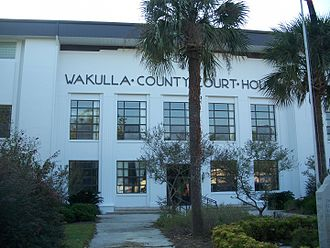 Wakulla County, Florida - Image: Crawfordville FL new crths 02