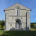 Cressac-Saint-Genis 16 Chapelle Templiers façade 2013.jpg