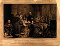Crimean War; Florence Nightingale and her staff nursing a pa Wellcome V0015790.jpg