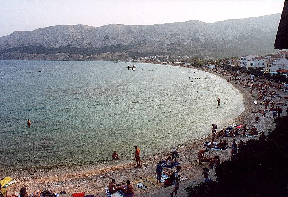 Croatia Baska bay