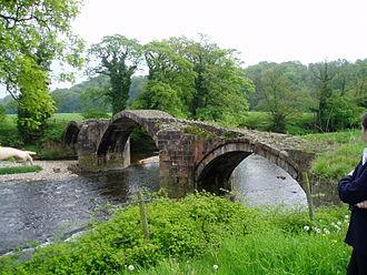 River Hodder - Cromwell's Bridge, near Hurst Green