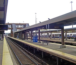 Croton–Harmon station - Platforms at Croton-Harmon station