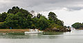 Cruise boat, islands of gulf of Morbihan, France.jpg
