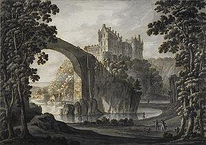 Banffshire - Cullen Castle, Banffshire
