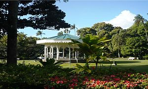 Curepipe Botanical Gardens - Kiosk for Bands