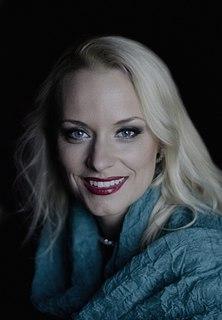 Sabina Cvilak Slovenian operatic soprano