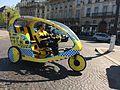 Cycle taxi, Paris 17 April 2014.jpg