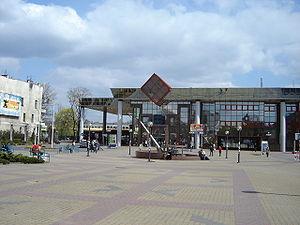 Plac Rady Europy i dworzec Cz�stochowa Osobowa