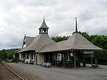 D&H Railroad Depot, Westport, New York.jpg