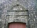 Détails fronton portail occidental chapelle Coadry Scaër.jpg