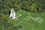 Dörgicse, Boldogasszony templomrom légifelvételen.jpg