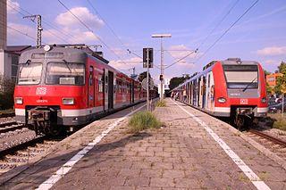 line of the Munich S-Bahn